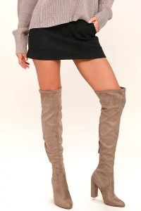 "The 5 Best Steve Madden ""Over The Knee Boots"" Currently On Sale"